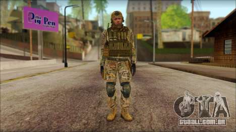 USA Soldier v2 para GTA San Andreas