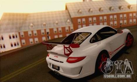 Porsche 911 GT3 2010 para GTA San Andreas vista superior