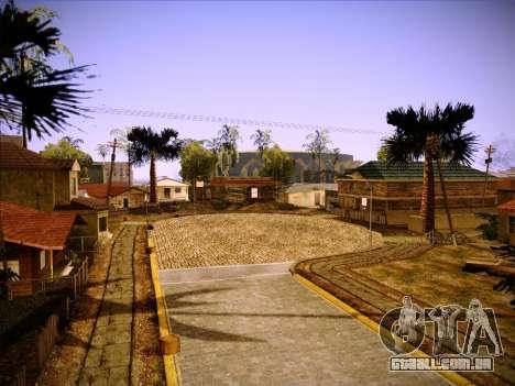 Novo ENBSeries por MC_Dogg para GTA San Andreas por diante tela