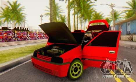 Dacia Super Nova Tuning para GTA San Andreas vista traseira