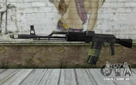 AK-101 from Battlefield 2 para GTA San Andreas