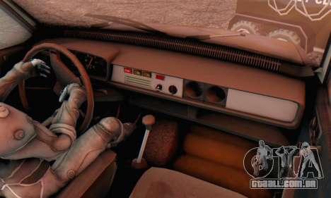 Dacia 1310 MLS Rusty Edition 1988 para GTA San Andreas vista traseira