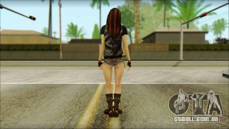 Bike Girl para GTA San Andreas segunda tela
