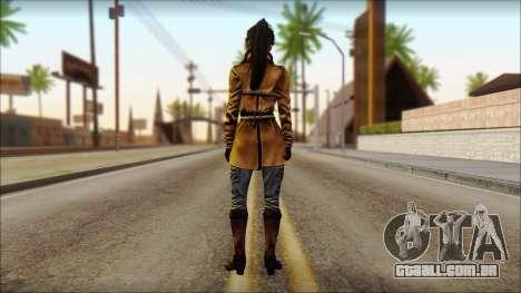 Tomb Raider Skin 2 2013 para GTA San Andreas segunda tela