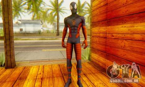 Skin The Amazing Spider Man 2 - DLC Anti-Electro para GTA San Andreas terceira tela