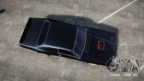Dodge Charger 1971 para GTA 4 vista direita