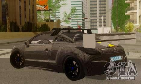 Peugeot RCZ GTS 2010 Tuned v2.0 para GTA San Andreas esquerda vista