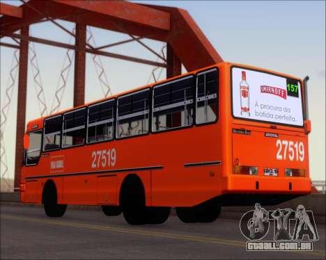 Ciferal GLS Bus Mercedes-Benz OH1420 para GTA San Andreas traseira esquerda vista
