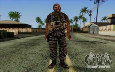 Os soldados de Rogue Warrior 3 para GTA San Andreas