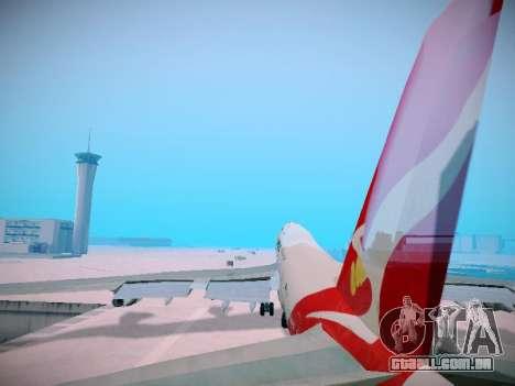 Boeing 747-438 Qantas Boxing Kangaroo para as rodas de GTA San Andreas