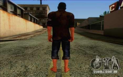 Dennis Rogers (Far Cry 3) para GTA San Andreas segunda tela