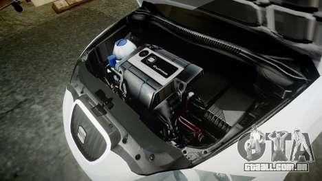 Seat Leon Guido Belsito para GTA 4 vista de volta