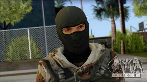 Soviet Soldier para GTA San Andreas terceira tela