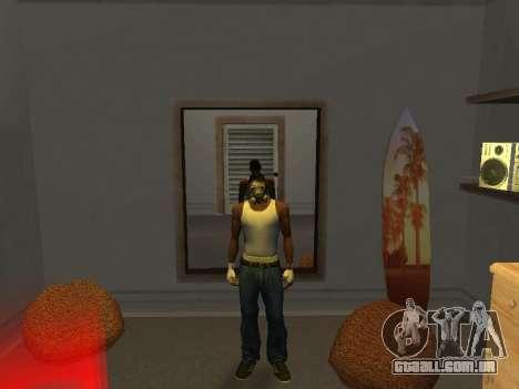 Máscara de um Stalker para GTA San Andreas segunda tela