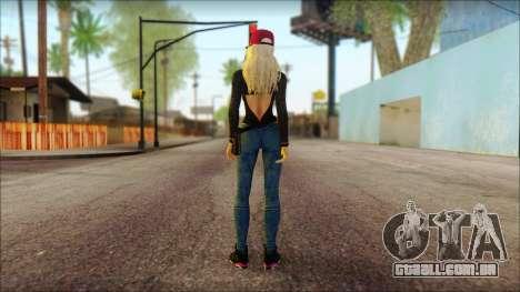 Eva Girl v2 para GTA San Andreas segunda tela