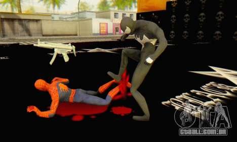Skin The Amazing Spider Man 2 - Molecula Estable para GTA San Andreas sexta tela