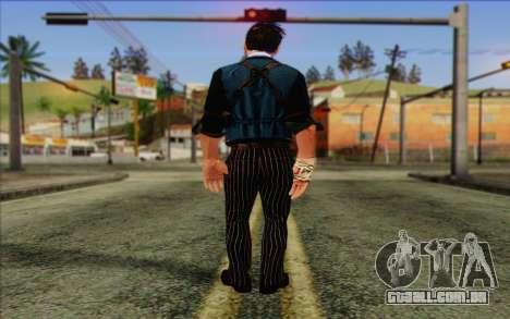 Booker DeWitt Skin para GTA San Andreas segunda tela