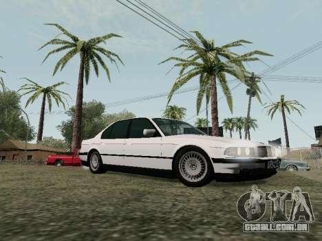 BMW 760i E38 para vista lateral GTA San Andreas
