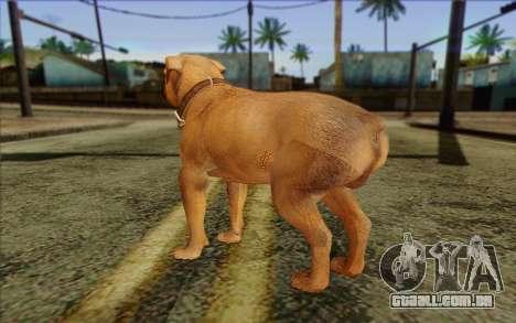 Rottweiler from GTA 5 Skin 2 para GTA San Andreas segunda tela