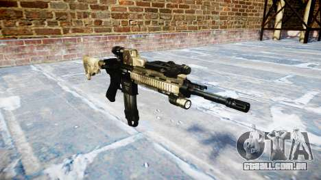 Automatic rifle Colt M4A1 mack há para GTA 4