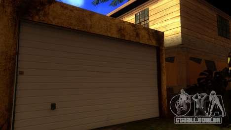 Novas texturas HD casas na grove street v2 para GTA San Andreas por diante tela