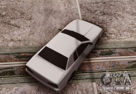 Elegy by Scop & Milky para GTA San Andreas traseira esquerda vista