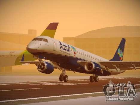 Embraer E190 Azul Brazilian Airlines para GTA San Andreas