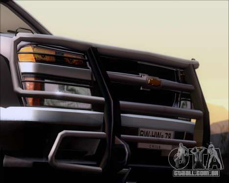 Chevrolet Colorado para as rodas de GTA San Andreas