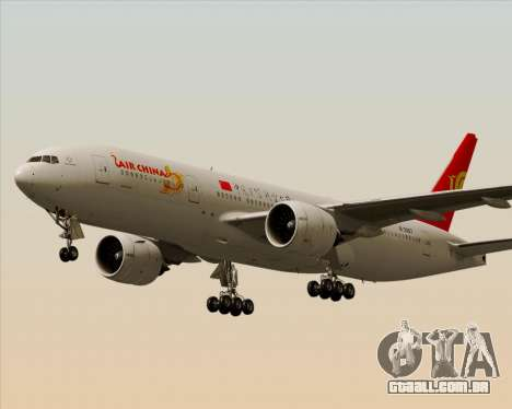 Boeing 777-200ER Air China para o motor de GTA San Andreas