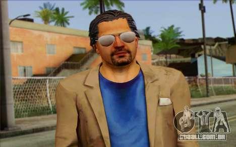 Willis Huntley from Far Cry 3 para GTA San Andreas terceira tela