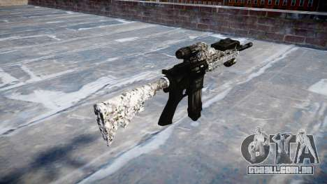 Automatic rifle Colt M4A1 diamante para GTA 4 segundo screenshot