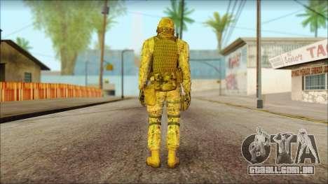 USA Soldier v2 para GTA San Andreas segunda tela