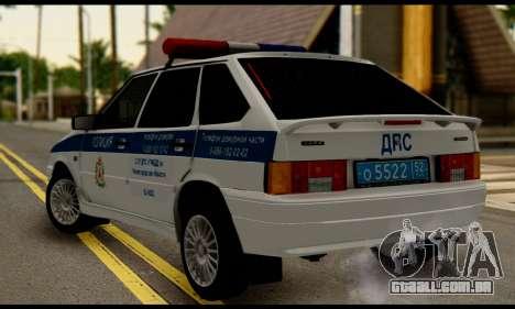 VAZ 2114 DPS para GTA San Andreas esquerda vista