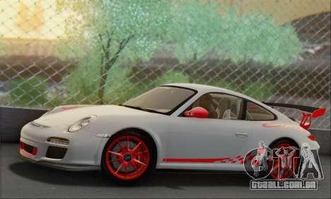 Porsche 911 GT3 2010 para GTA San Andreas esquerda vista