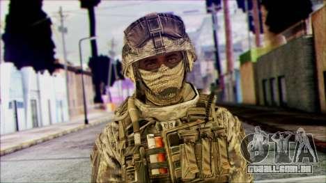Ranger (CoD: MW2) v1 para GTA San Andreas terceira tela