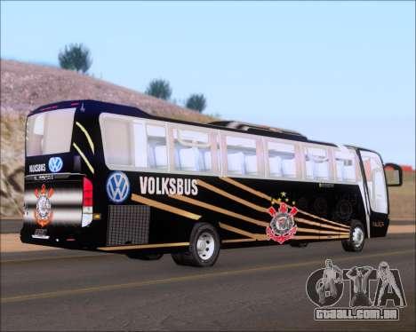 Busscar Vissta Buss LO Faleca para GTA San Andreas vista direita