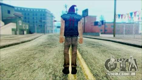 Manhunt Ped 19 para GTA San Andreas segunda tela
