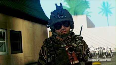 Soldados a bordo (CoD: MW2) v5 para GTA San Andreas terceira tela
