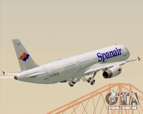 Airbus A321-231 Spanair para GTA San Andreas