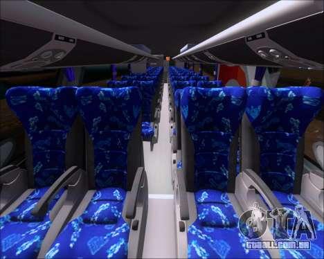 Marcopolo Paradiso G7 1600LD Scania K420 para GTA San Andreas vista traseira