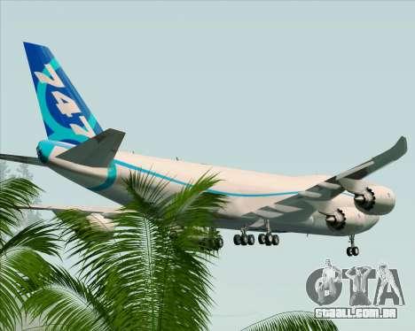Boeing 747-8 Cargo House Livery para o motor de GTA San Andreas