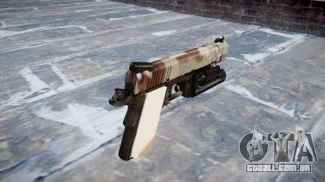 Arma Kimber 1911 Choco para GTA 4 segundo screenshot
