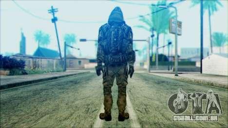 Um soldado da equipe de 4 Phantom para GTA San Andreas segunda tela