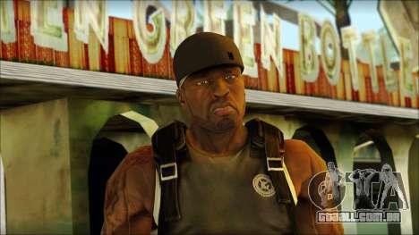 50 Cent para GTA San Andreas terceira tela