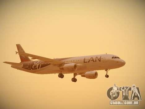 Airbus A320-214 LAN Airlines 80 Years para o motor de GTA San Andreas