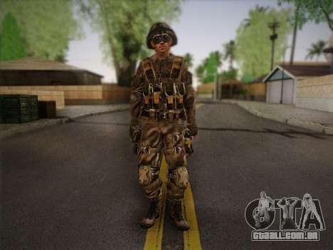 Боец СВР (Tom Clancy Splinter Cell) v2 para GTA San Andreas
