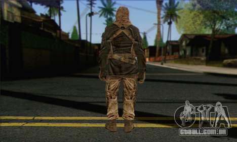 Task Force 141 (CoD: MW 2) Skin 18 para GTA San Andreas segunda tela