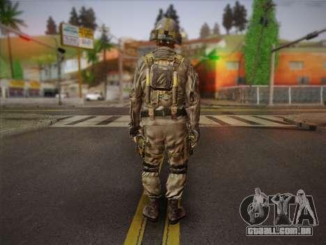 Боец СВР (Tom Clancy Splinter Cell) v2 para GTA San Andreas segunda tela