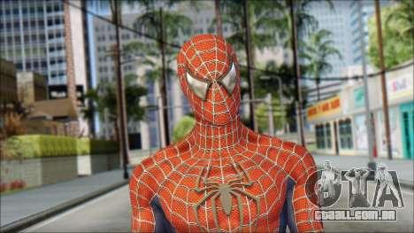 Red Trilogy Spider Man para GTA San Andreas terceira tela