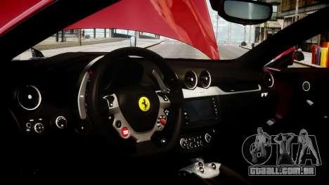 Ferrari FF 2011 v1.5 para GTA 4 vista de volta